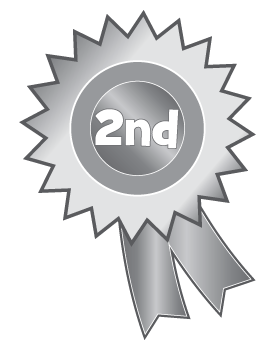 2nd Place Rosette Clipart