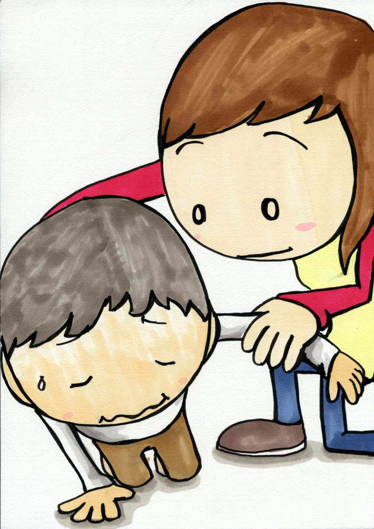People Helping Each Other Clipart - Clipart Kid