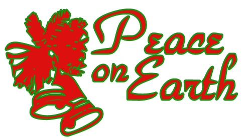 Clip Art   Christmas Clip Art Images   Graphics   Peace On Earth Jpg