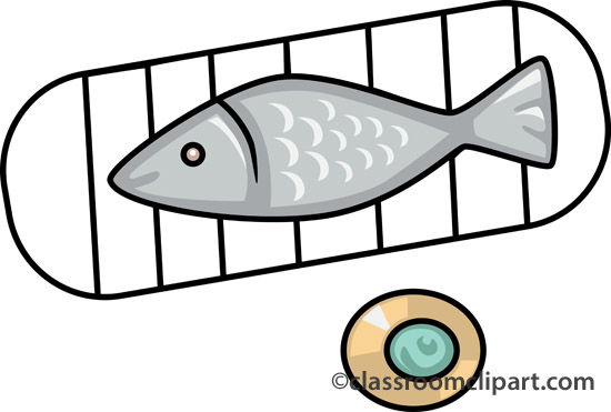 Grilled Fish Clipart - Clipart Kid
