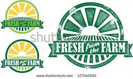 Fresh Produce Logo Fresh From The Farm Produce