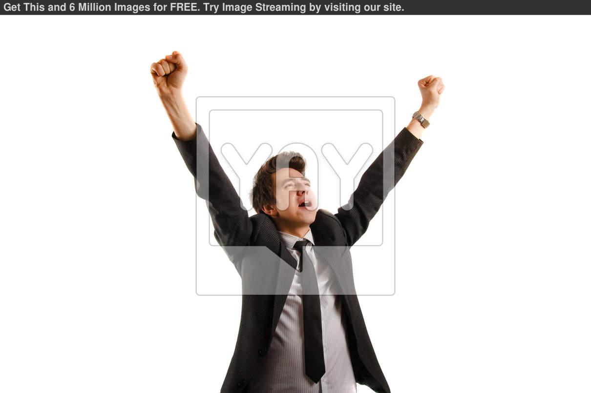 Person Rejoicing