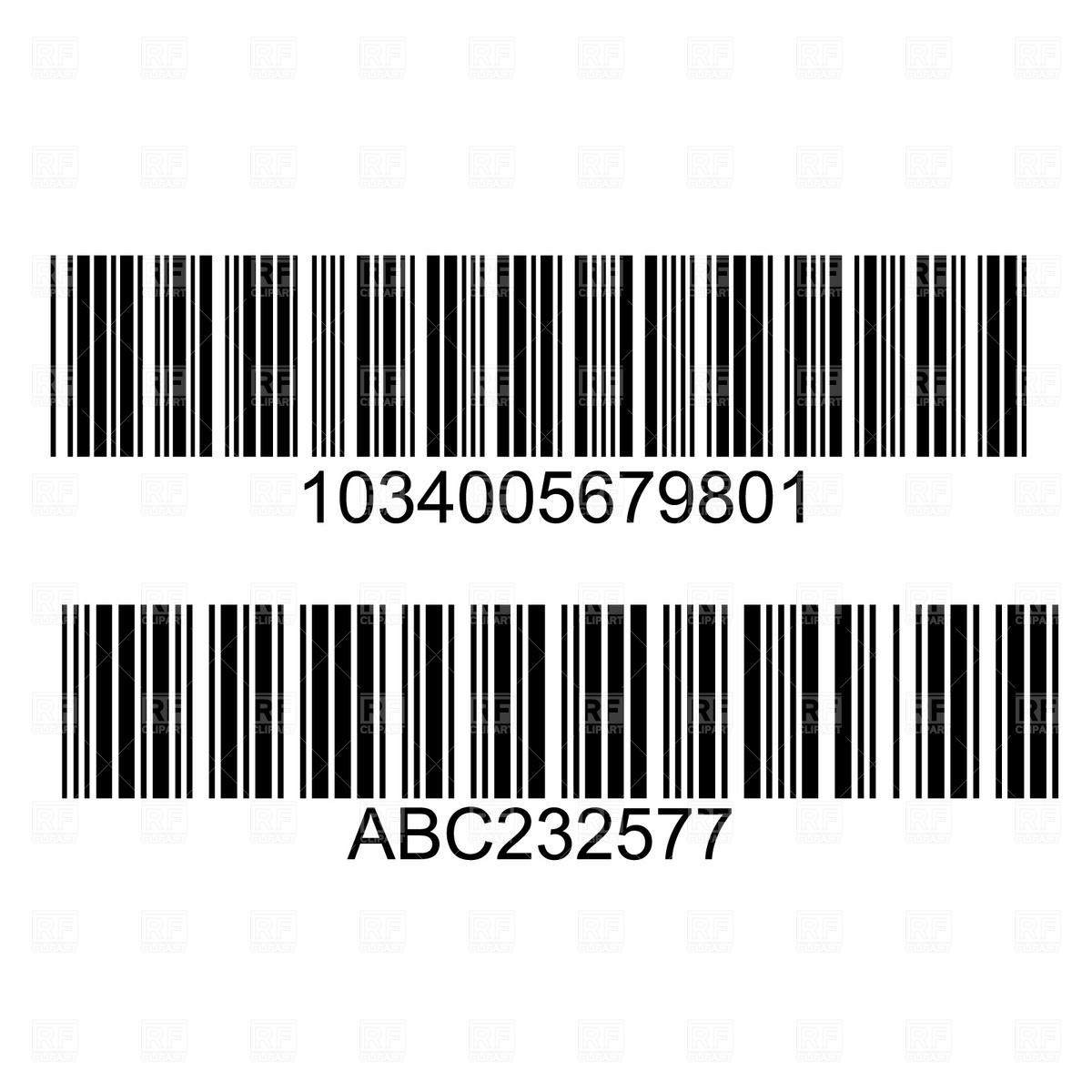 Bar Code Clipart - Clipart Kid