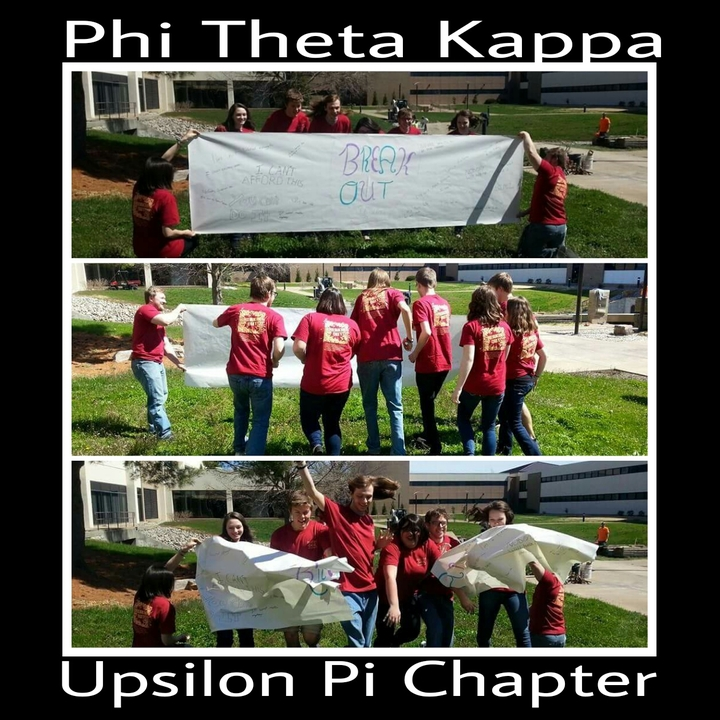 Breaking Out  Is The 2014 2015 Theme For The Upsilon Pi Chapter Of