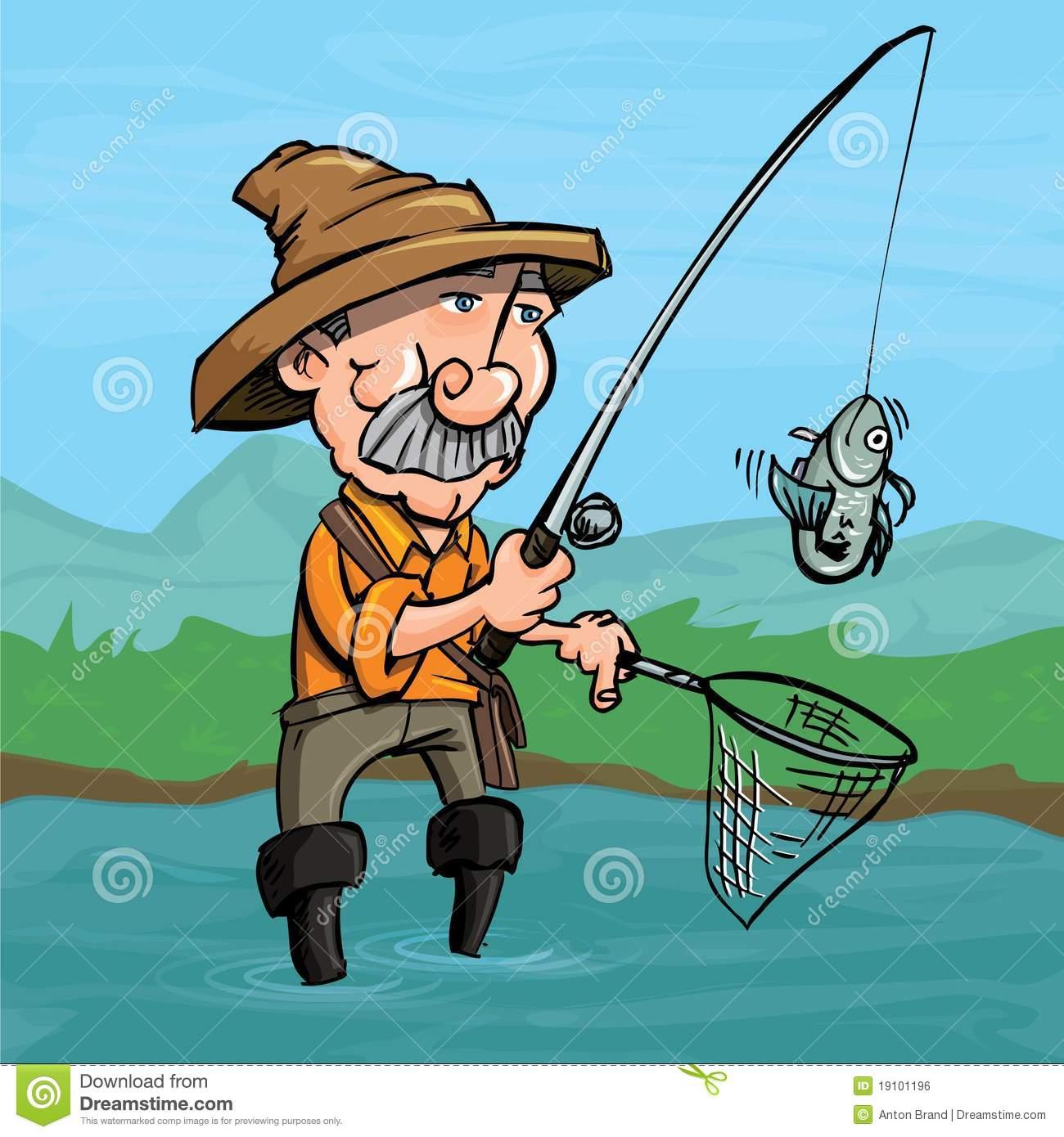 рыбак в мультике фото