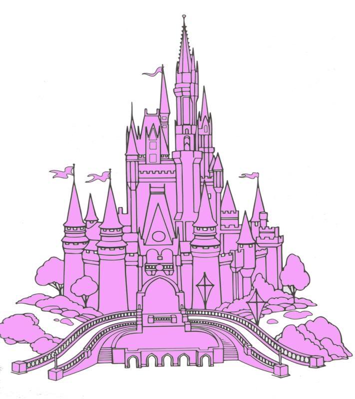 Disney World Castle Clipart - Clipart Kid