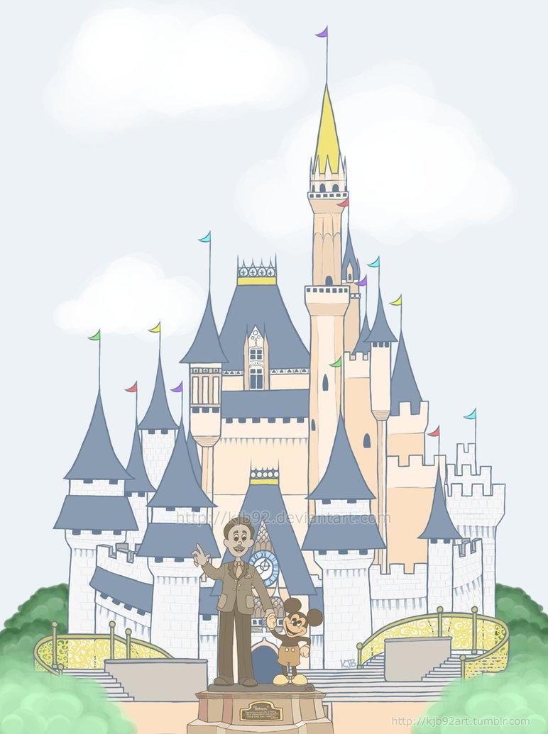 cinderellas castle clipart - photo #24