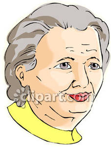 Grandma   Royalty Free Clipart Picture