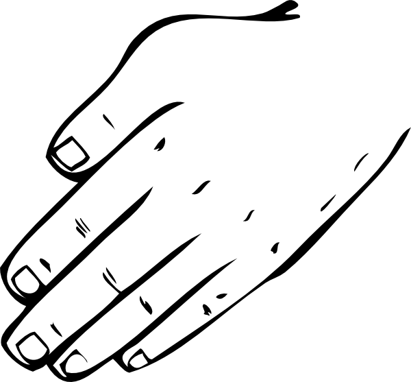 Hand In Hand Clipart - Clipart Kid