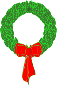 Honesty Clipart Christmas Wreath Md Png