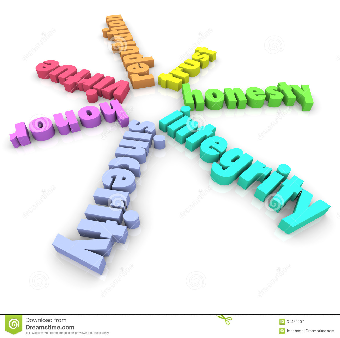 Integrity And Related Words Such As Honor Virtue Sincerity Honesty