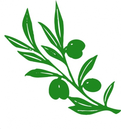Leaf Tree Branches Cartoon Peace Branch Free Plant Olive Olives