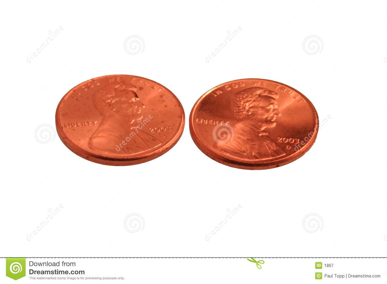 My Two Cents Royalty Free Stock Photography   Image  1867