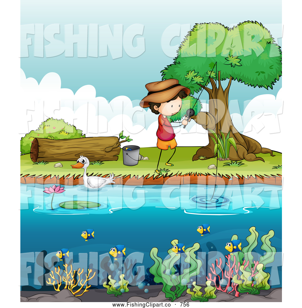 free clipart fish pond - photo #38