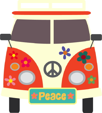 60s Peace Sign Clipart - Clipart Kid