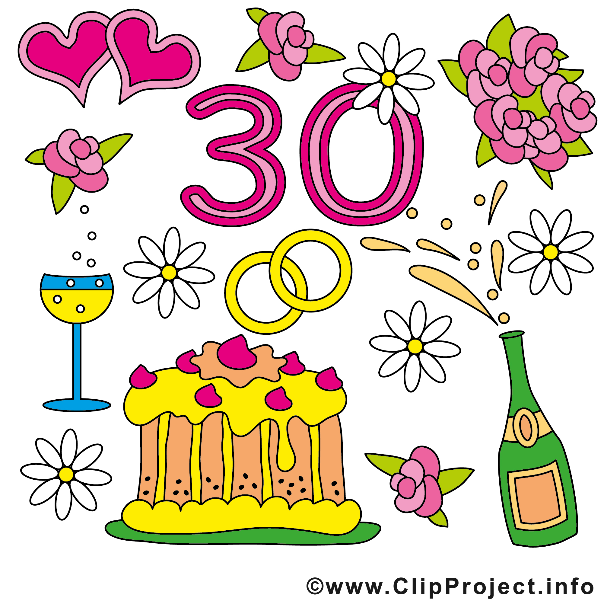 cliparts kostenlos geburtstag 50 - photo #25