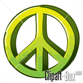 Related Peace And Love Graffiti Syle Cliparts