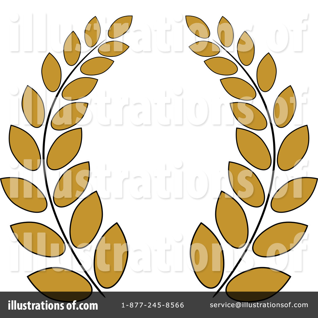 Royalty Free Rf Greek Wreath Clipart Illustration By Pams Clipart