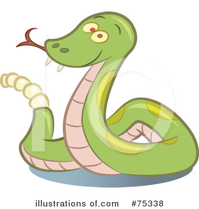 Royalty Free  Rf  Rattlesnake Clipart Illustration By Frisko   Stock