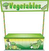 Vegetable Stand Illustrations And Clip Art  359 Vegetable Stand