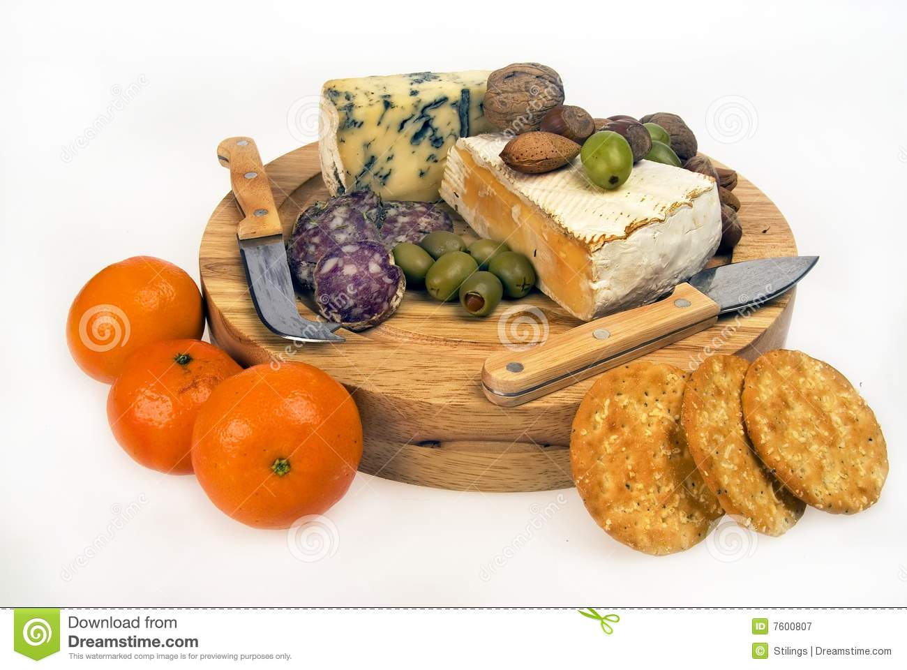 Cheese And Fruit Plate Royalty Free Stock Photography   Image  7600807
