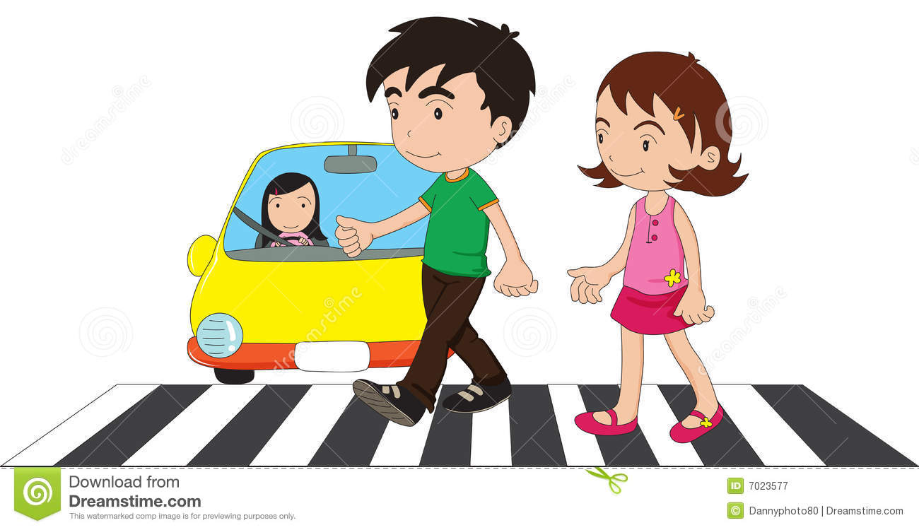 mom withh crossing the street clipart clipart suggest