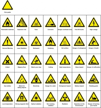 Download Sign Hazard Warning Clip Art Vector For Free