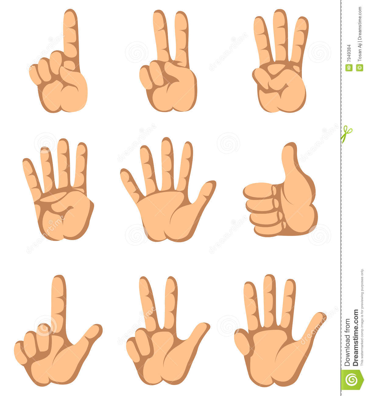 Clip Art Finger Clipart number 1 finger clipart kid hand one to nine stock images image 7949384
