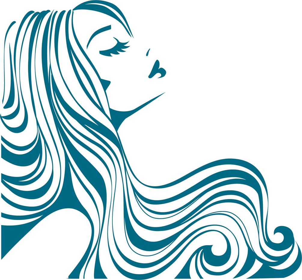 Flowing Hair Silhouette   Clipart Panda   Free Clipart Images