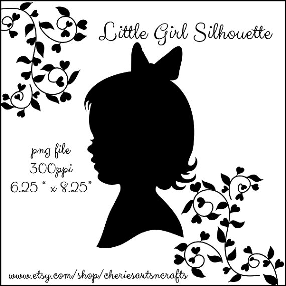 Girl Silhouette Silhouette Graphics Silhouette Clipart Girl Clipart