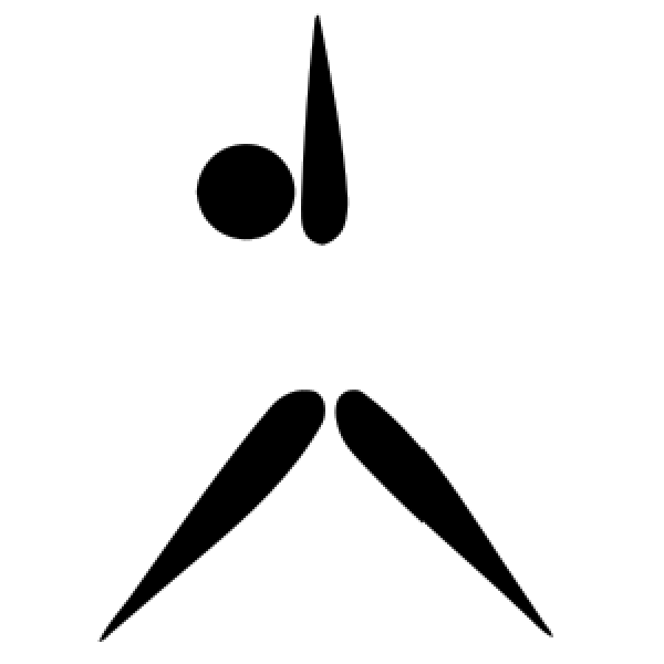 Gymnastics Aerobic Pictogram Exercise   Free Images At Clker Com