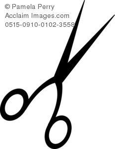 Barber Scissors Clipart - Clipart Kid