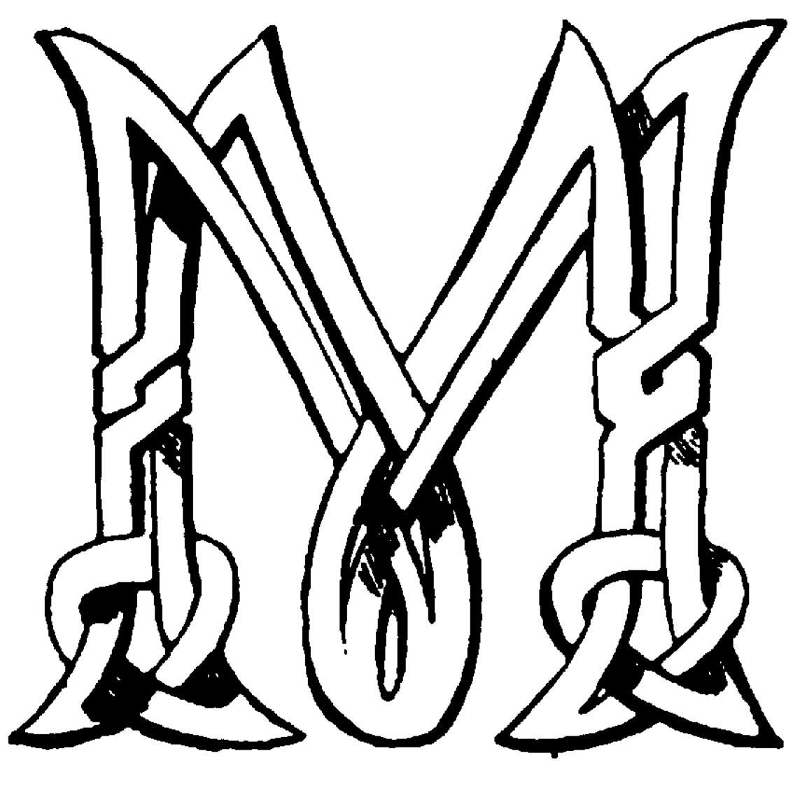Initial M -clip Art Clipart - Clipart Kid