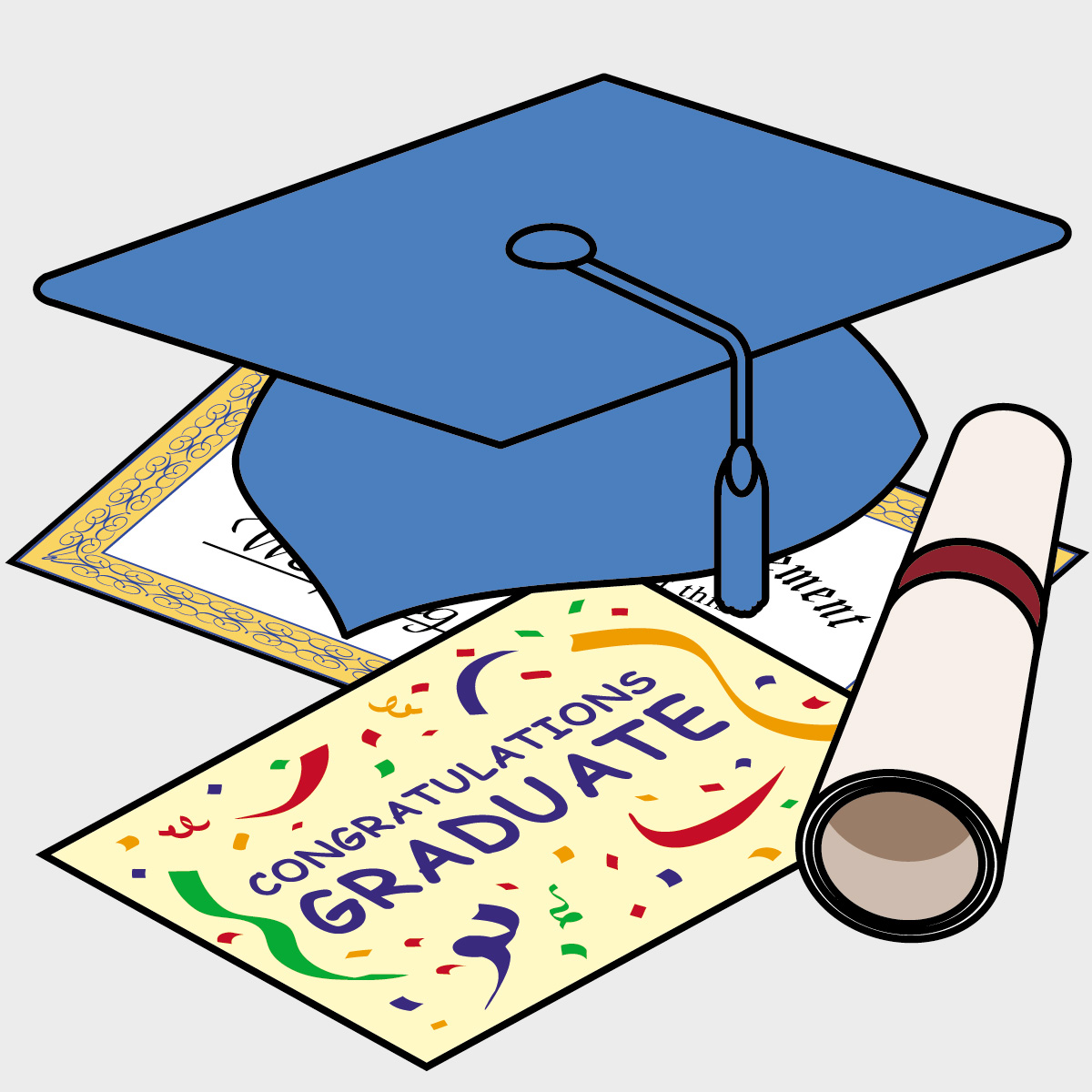 Senior Graduation Clipart - Clipart Kid