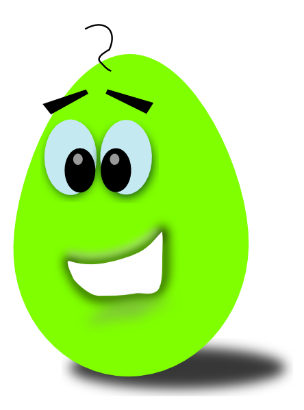 Lime Comic Egg Clip Art At Clker Com   Vector Clip Art Online Royalty