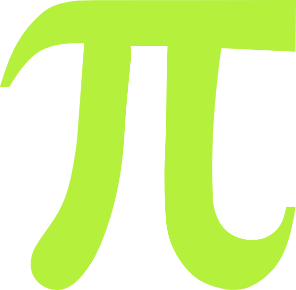Lime Green Pi Clip Art