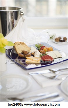 Stock Image   Fruit And Cheese Platter On Table  Fotosearch   Search