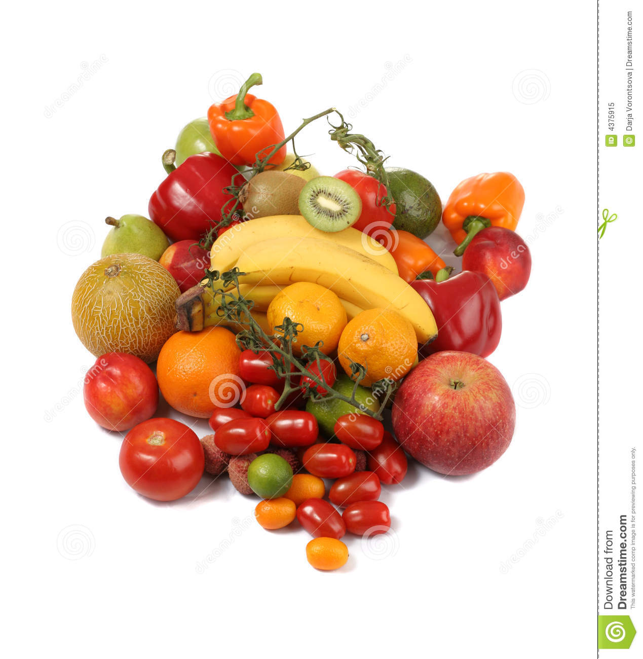 Variety Fruit Vegetables And Cheese Royalty Free Clipart   Jobspapa