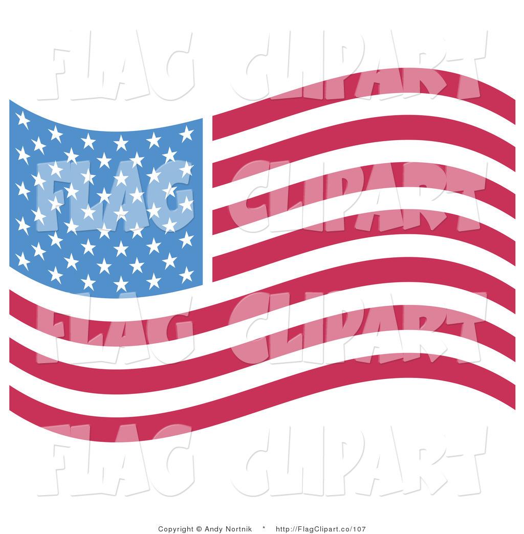 Wavy American Flag 50 Stars For Pinterest