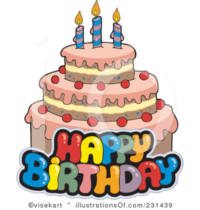 Clip Art Happy Birthday Cake Clip Art happy birthday cake clipart kid wish you to get all success and long prosperity in your life
