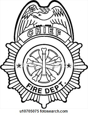 Clipart    Badge Chief Department Emergency Emergency Services
