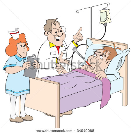 Image Gallery Happy Hospital Patient Cartoon