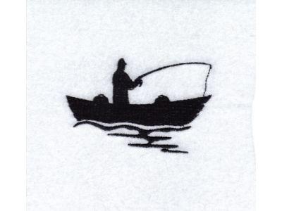 Fisherman Silhouette Clipart