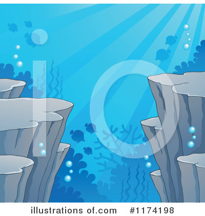 Royalty Free  Rf  Under The Sea Clipart Illustration By Visekart