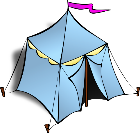 Tent Clipart Black And White   Clipart Panda   Free Clipart Images