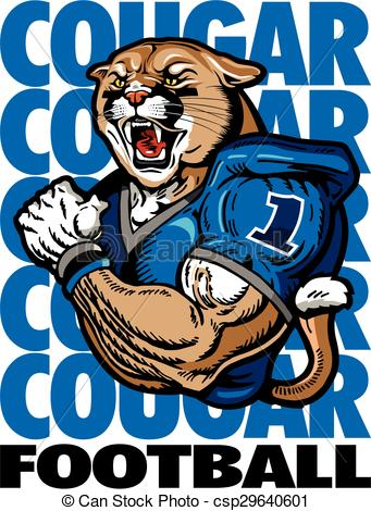 Large Cougar Football Clipart Clipart Suggest