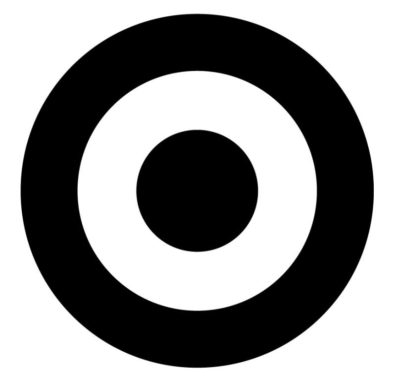 Bullseye Black And White Clipart - Clipart Suggest