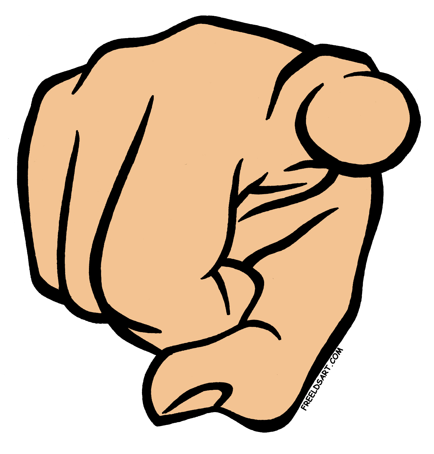 clipart man pointing finger - photo #6