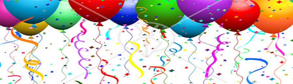 Ca30183 Clipart Illustration Of Colorful Helium Filled Balloons With