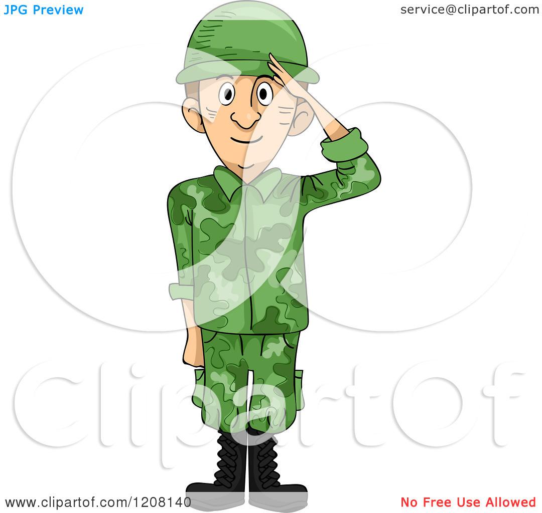 cartoon soldier clipart
